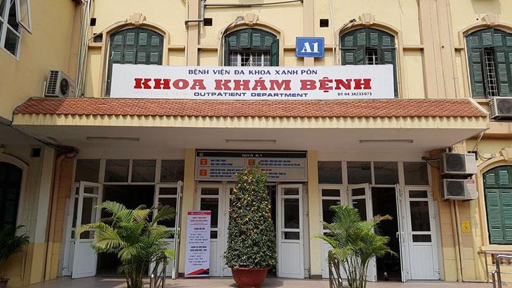 Khám chữa bệnh dạ dày tại bệnh viện Xanh Pôn