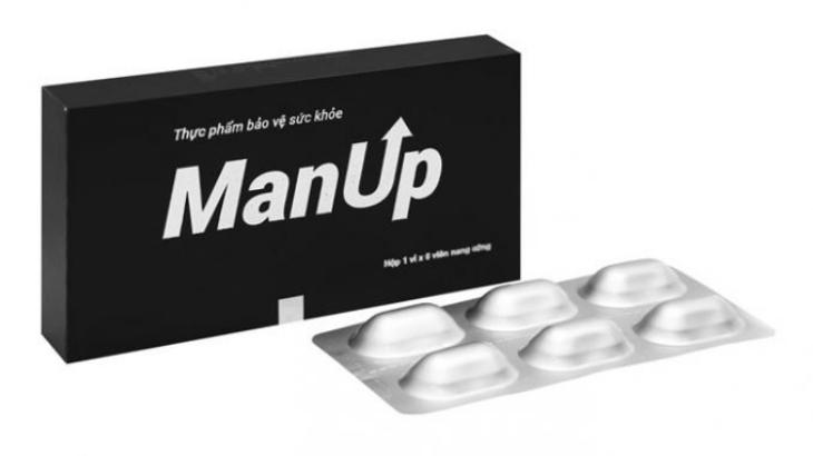 Viên uống ManUp được nhiều người dùng phản hồi tích cực về hiệu quả mang lại