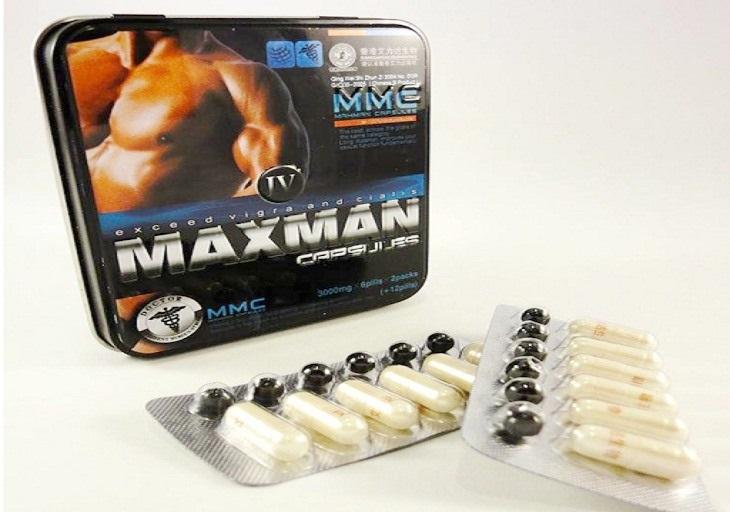 Dòng sản phẩm Maxman 24 viên