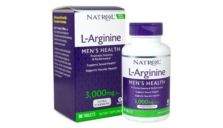 Viên uống hỗ trợ tăng cường sinh lý cho nam Natrol L-Arginine 3000mg