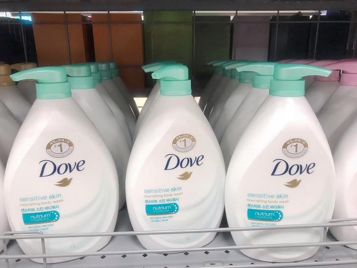 Sữa tắm Dove cho làn da dịu nhẹ