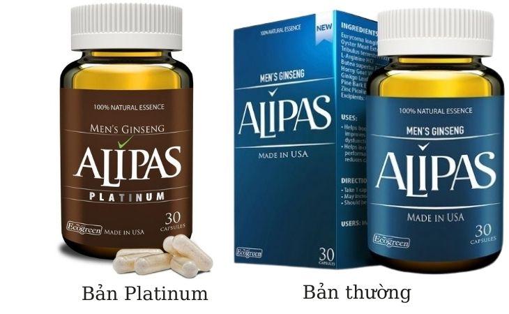 Viên uống sâm Alipas cải thiện tình trạng xuất tinh sớm