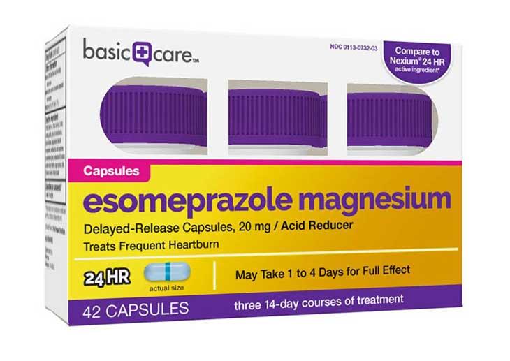 Thuốc điều trị đau bao tử hiệu quả Esomeprazole