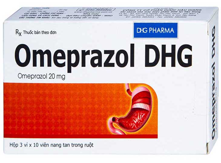 Omeprazol DHG được do Công ty dược phẩm cổ phần Trung ương III sản xuất