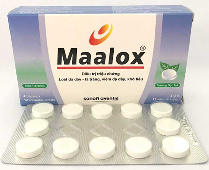 Maalox là thuốc có khả năng đệm rất tốt