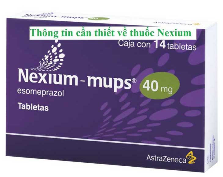 Thuốc Nexium Mups nằm trong nhiều đơn thuốc đau dạ dày - tá tràng của các bệnh viện lớn