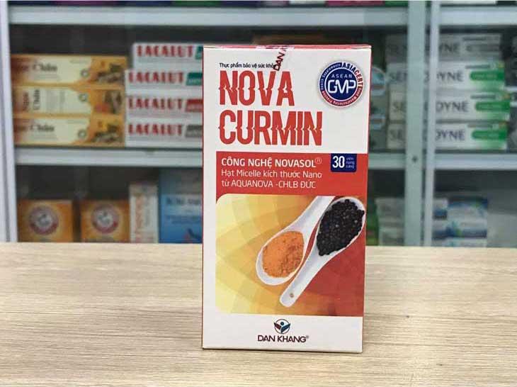 MNova Curmin, hỗ trợ điều trị đau dạ dày hiệu quả