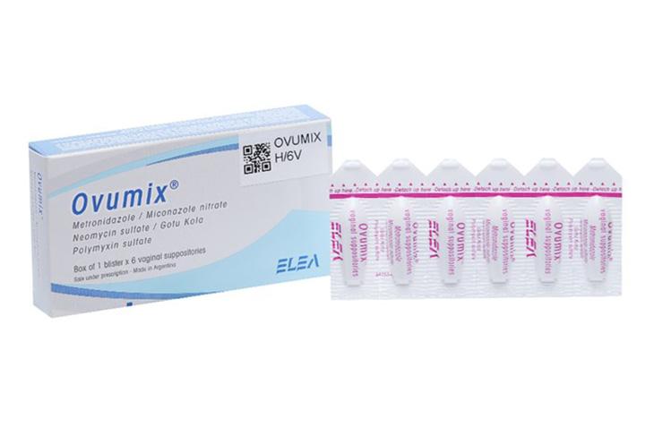 Ovumix là loại thuốc đặt viêm âm đạo được rất nhiều người bệnh tin tưởng sử dụng hiện nay