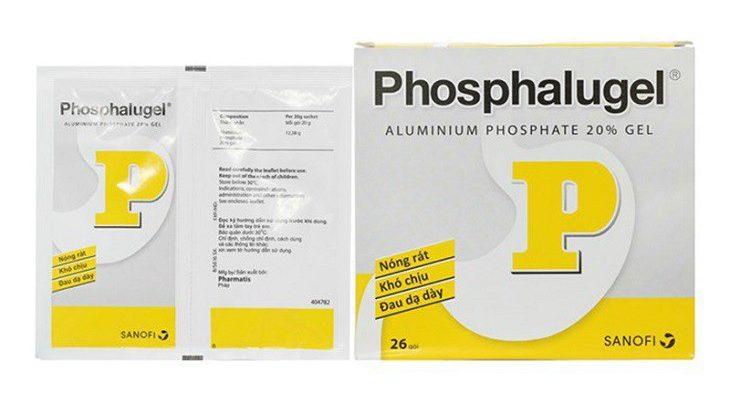 Phosphalugel hay còn gọi là thuốc dạ dày chữ P
