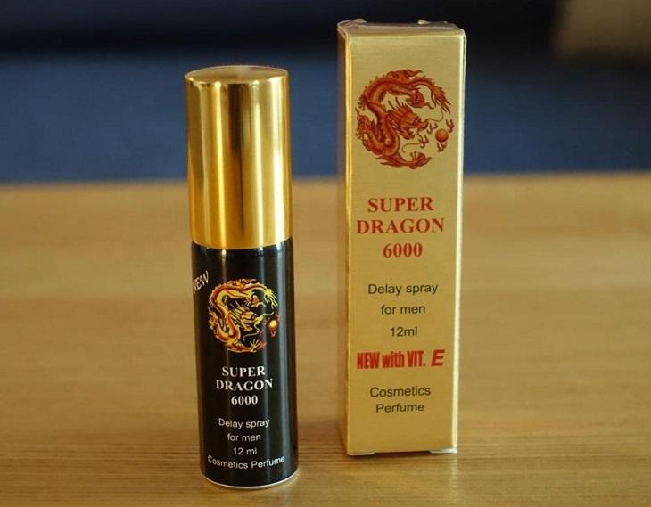 Thuốc xịt chống xuất sớm Super Dragon 6000