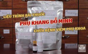 Liệu trình bài thuốc Phụ Khang Đỗ Minh chữa bệnh phụ khoa của Đỗ Minh Đường