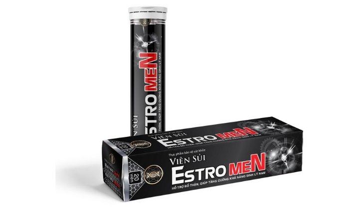 Viên sủi Estromen giúp nam giới tăng khả năng hưng phấn