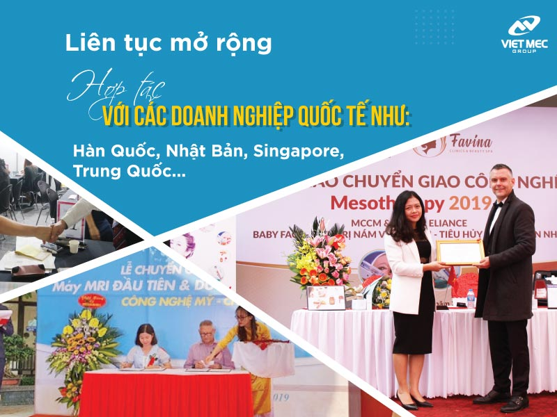 Vietmec Group đẩy mạnh hợp tác quốc tế