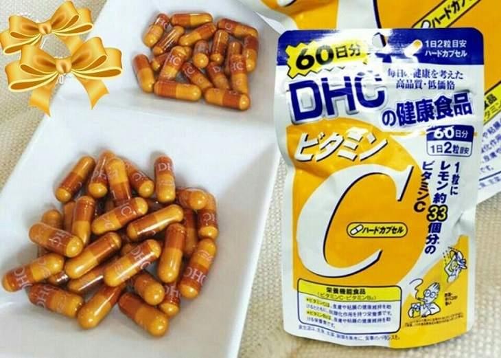 Sản phẩm viên uống vitamin C DHC của Nhật