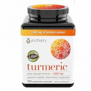 Youtheory turmeric là sản phẩm hỗ trợ tăng sức khỏe tiêu hóa, dạ dày được nhiều người tin dùng hiện nay