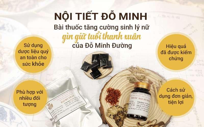 Điều trị dứt điểm chứng lãnh cảm nhờ bài thuốc nam Nội tiết Đỗ Minh