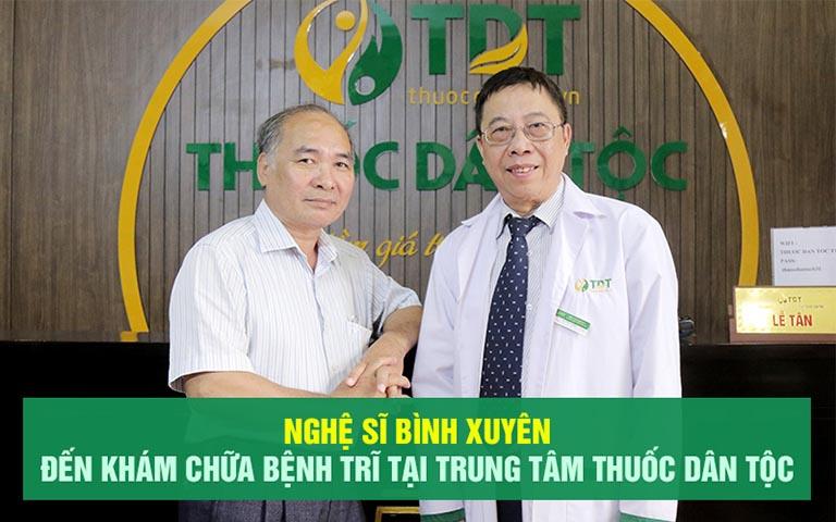 Nghệ sĩ Bình Xuyên chữa khỏi bệnh trĩ chỉ sau 3 tháng