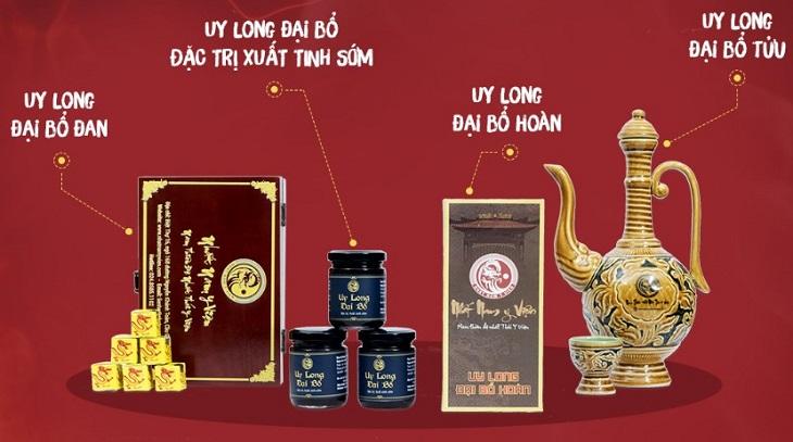 Bài thuốc Uy Long Đại Bổ được phục dựng từ Thái Y Viện triều Nguyễn