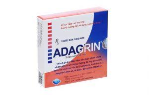 Adagrin là thuốc gì? Thành phần, công dụng, cách dùng, giá bán trên thị trường