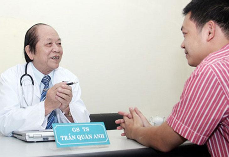 GS. Bác sĩ chữa liệt dương đầu ngành Trần Quán Anh