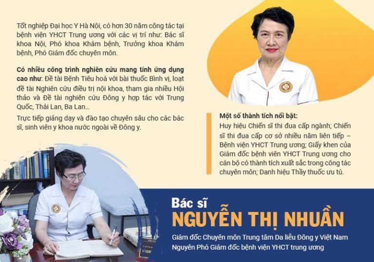 Bác sĩ Nguyễn Thị Nhuần là chuyên gia Y học cổ truyền có tiếng với gần nửa thế kỷ kinh nghiệm