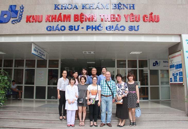 Bệnh viện Da liễu Trung ương được đánh giá là cơ sở điều trị uy tín và chất lượng