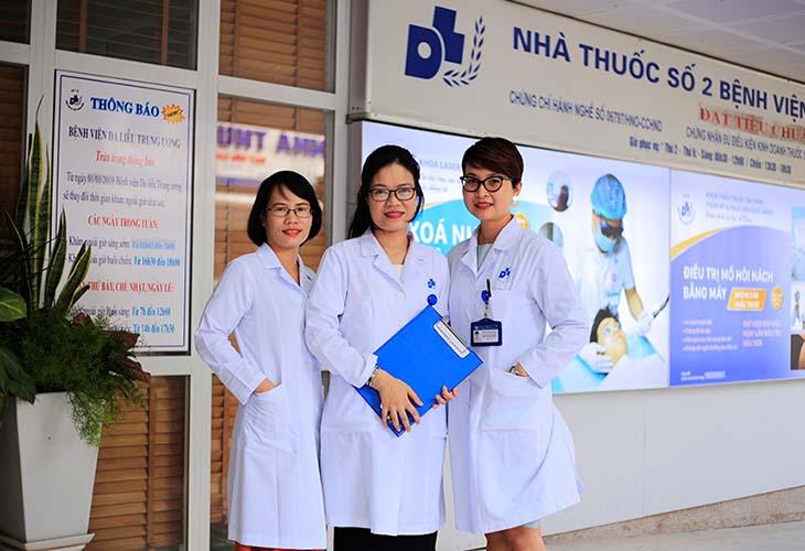Bệnh viện Da Liễu Trung ương là địa chỉ điều trị bệnh á sừng ở trẻ em uy tín, chất lượng