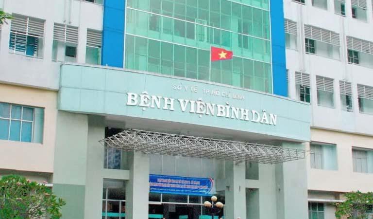 Bệnh viện Bình Dân là địa chỉ thăm khám và điều trị trào ngược dạ dày uy tín tại TP. HCM