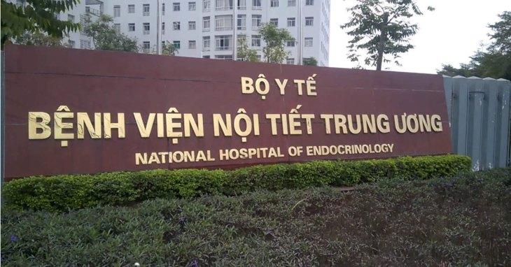 Bệnh viện là một trong những địa chỉ khám và điều trị nội tiết uy tín