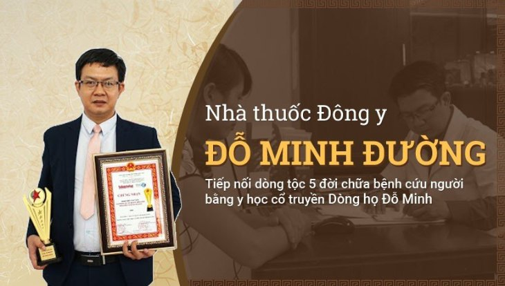 Nhà thuốc Đỗ Minh Đường chữa bệnh nội tiết bằng bài thuốc gia truyền