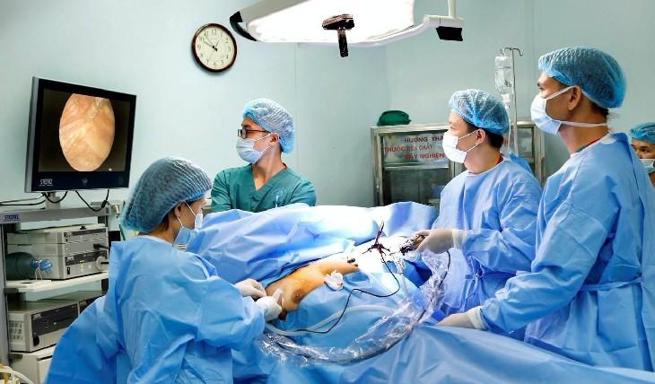 Bệnh viện được đầu tư cơ sở vật chất, trang thiết bị hiện đại