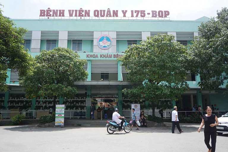 Bệnh viện Quân y 175 trực thuộc Bộ Quốc phòng cũng là địa chỉ điều trị các bệnh lý về dạ dày rất tốt
