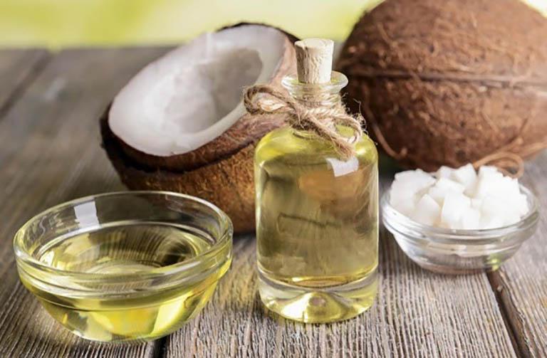 Cách trị da đồi mồi với dầu dừa