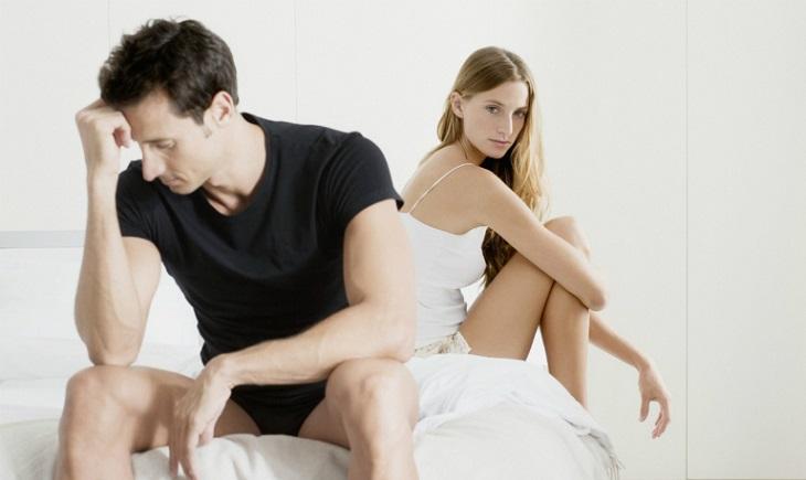 Giảm ham muốn tình dục là một trong những dấu hiệu rõ nét nhất của người bệnh