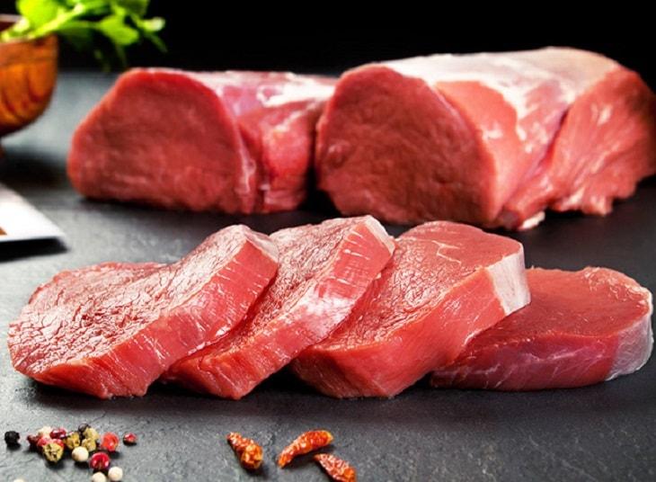 Sử dụng thịt đỏ mang đến nhiều lợi ích cho cánh mày râu