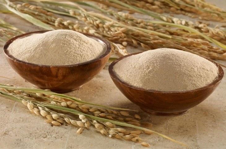 Cám gạo mang đến công dụng rất tốt cho người bệnh chàm