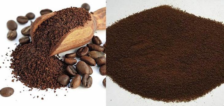 Cám gạo có thể kết hợp với bột cà phê