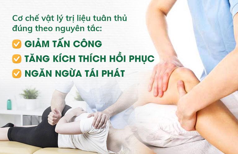 Vật lý trị liệu là phương pháp tác động chính