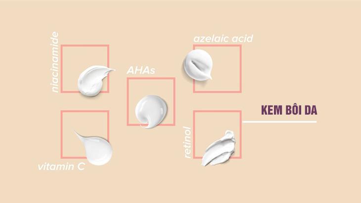 Để điều trị da bị tàn nhang đồi mồi, có thể áp dụng một số kem bôi chứa các thành phần làm sáng da