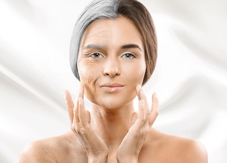Những thay đổi rõ rệt trên da cũng là dấu hiệu giúp nữ giới phát hiện ra giai đoạn mãn kinh đang tới