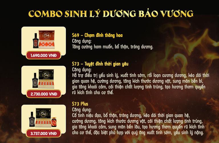 Tác dụng của 3 phiên bản trong bài thuốc Dương Bảo Vương