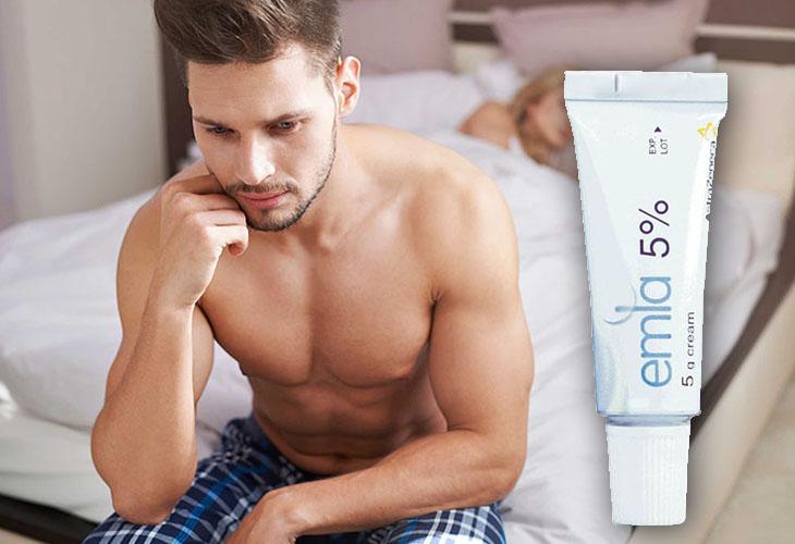 Gel Emla 5 phù hợp cho nam giới gặp các vấn đề về xuất tinh sớm, giảm ham muốn tình dục