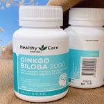 Review viên uống Ginkgo Biloba Healthy Care