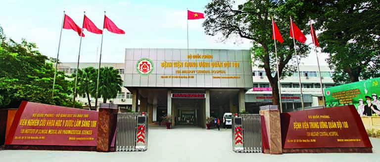Người bị trào ngược dạ dày có thể đến Bệnh viện Trung ương Quân đội 108để khám chữa bệnh