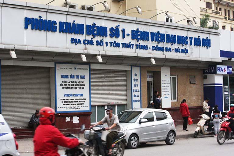 Điều trị nội khoa bệnh trào ngược dạ dày tại phòng khám số 1 của Bệnh viện Đại học Y Hà Nội