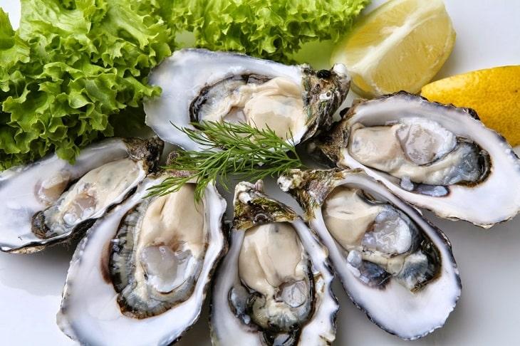 Hàu biển là món ăn tốt cho người liệt dương