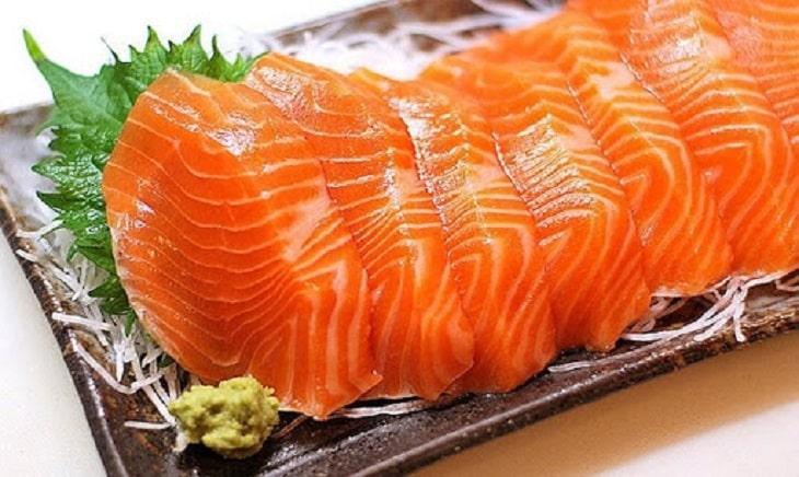 Cá hồi tăng khả năng cương cứng cho dương vật