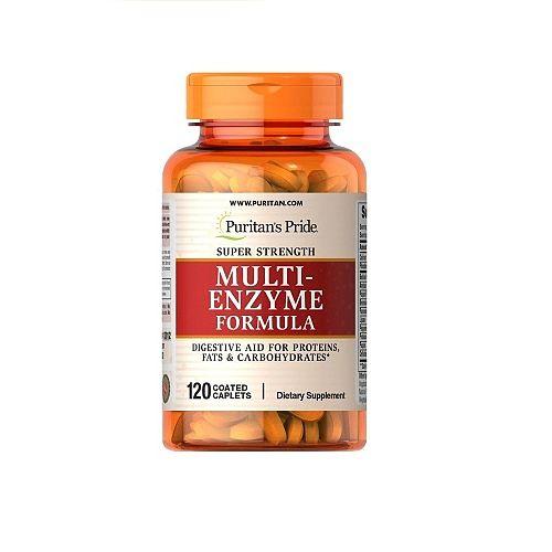 Viên uống Multi Enzyme Formula của Puritan's Pride
