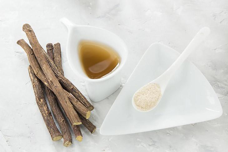 Chiết xuất cam thảo được sử dụng trị nám hỗn hợp