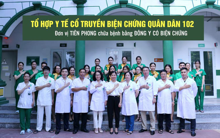 Tổ hợp y tế Quân Dân 102 là địa chỉ khám chữa bệnh da liễu được nhiều người bệnh đánh giá cao